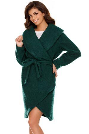 Jacheta Pauline verde casual elegantaJachete