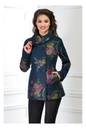 Palton Dama de Ocazie cu ImprimeuriPaltoane