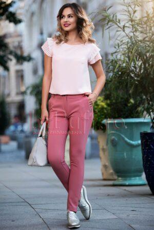Pantaloni Pretty Girl eleganti cu funditePANTALONI  COLANTI