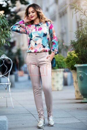 Pantaloni dama Pretty girl ecruPANTALONI  COLANTI