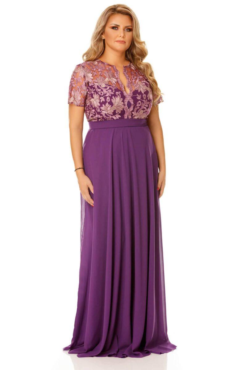 rochie plus size estela mov 6