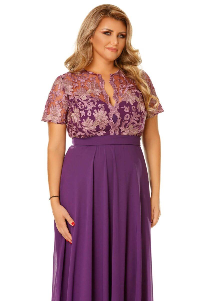 rochie plus size estela mov 7