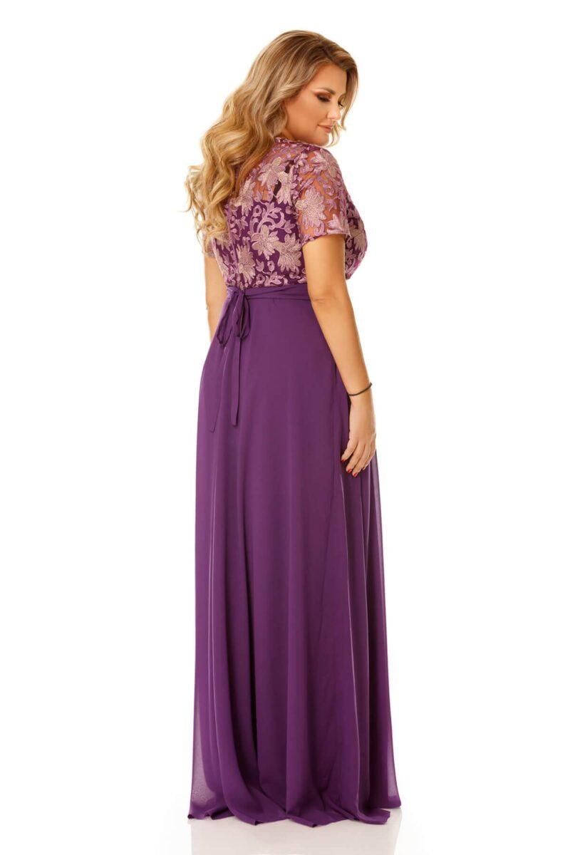 rochie plus size estela mov 8