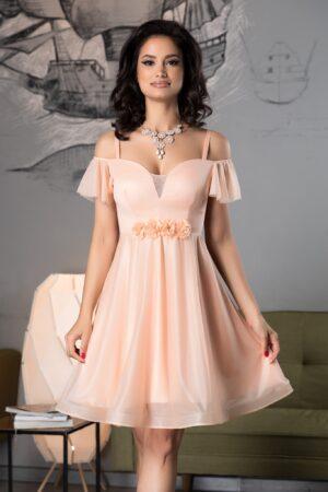 Rochie Sonique Peach