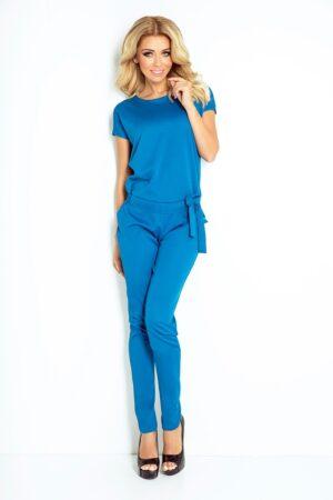 Salopeta albastra lunga eleganta de vara