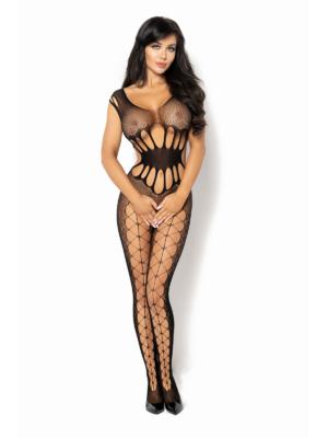 Catsuit / Body Stockings Etain - Negru S/l
