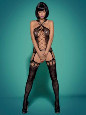 Catsuit / Body Stockings G313 - Negru S/m/l