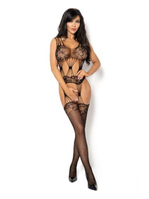 Catsuit / Body Stockings Maribel - Negru S/l