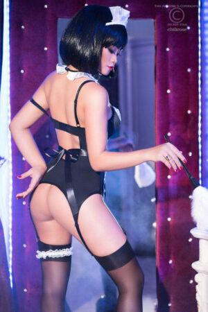 Costum Menajera Sexy S-m