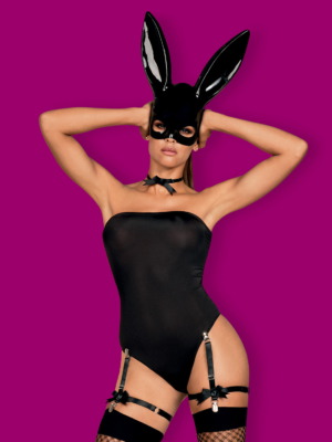 Costum Sexy Bunny Costume - Negru L/xl S-m