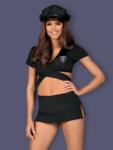 Costum Sexy Police Uniform - Negru L/xl S-m