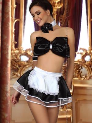 Costum Sexy Rosario - Negru L/xl S-m