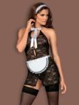 Costum Sexy Servgirl - Negru L/xl S-m